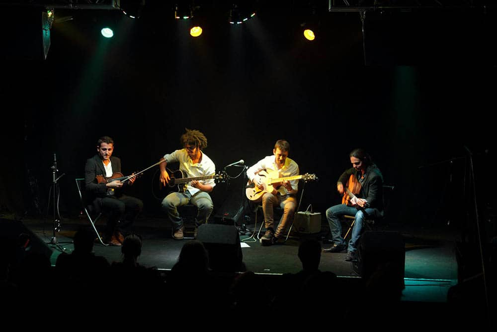 Groupe de Jazz manouche, concert