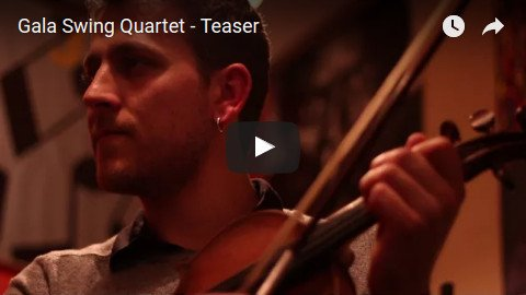 Teaser Gala Swng Quartet, Animation, Orchestre de Jazz France, Paca